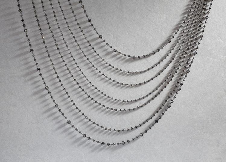 Make an Elegant Statement with Black Diamond Beads