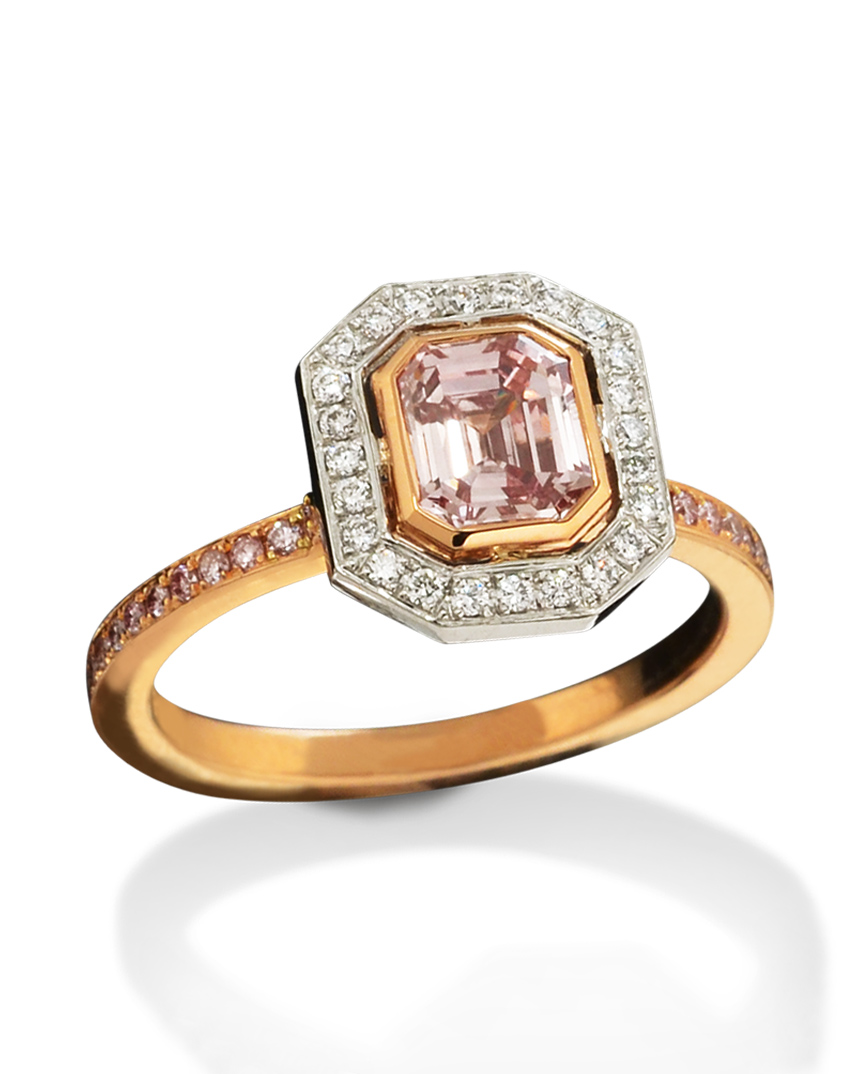 Natural Fancy Pink Diamond Ring Turgeon Raine