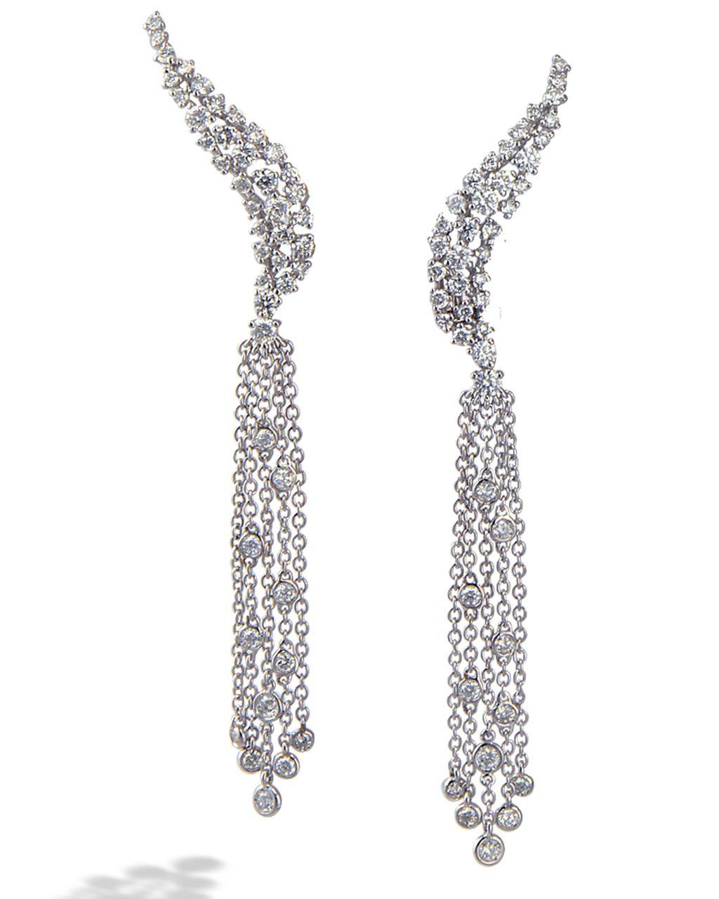 Diamond earrings by Casato Roma