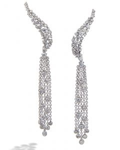 Diamond earrings by Casato Roma