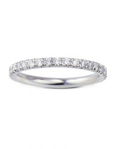 French set diamond eternity band