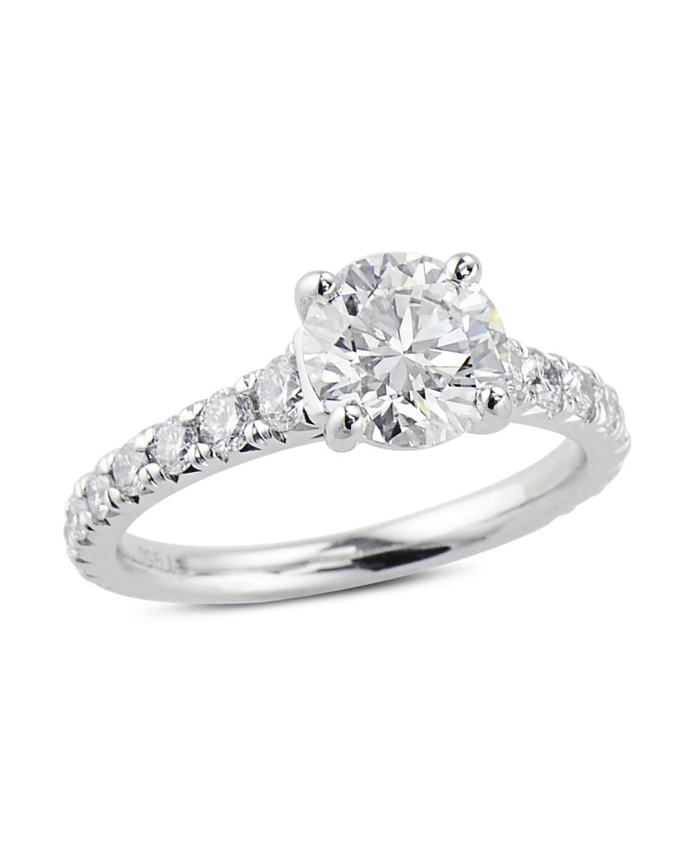 2292e285a French Set Diamond Engagement Ring - Turgeon Raine