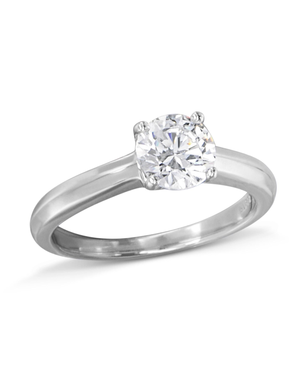 db7b982d1 Classic Solitaire Engagement Ring - Turgeon Raine