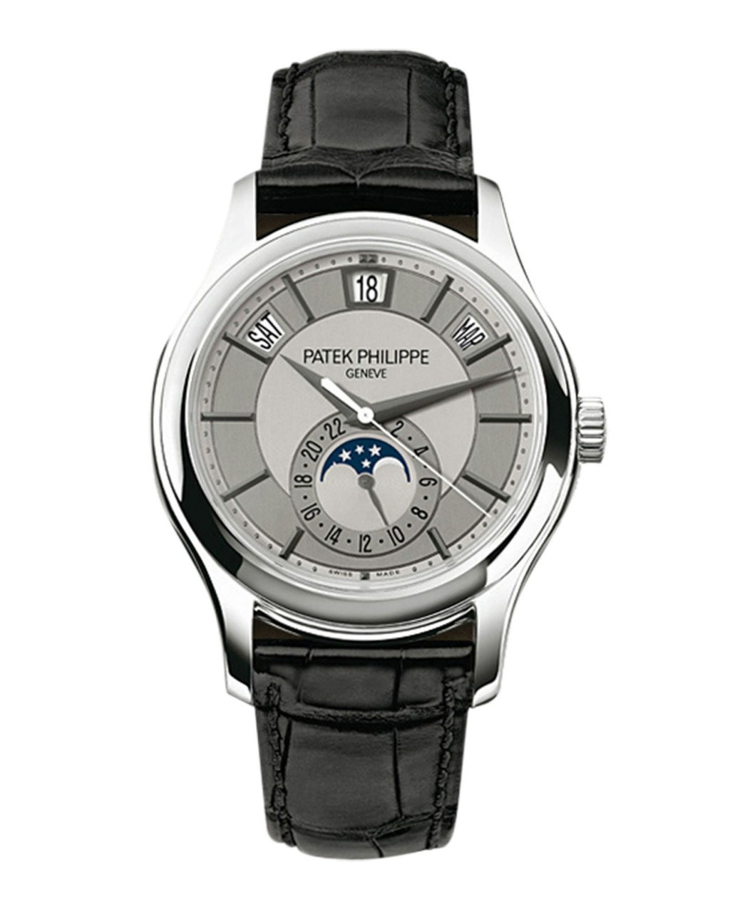 5205G-001 - White Gold - Men Complications