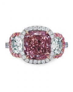 Fancy Intense Purple-Pink Diamond ring