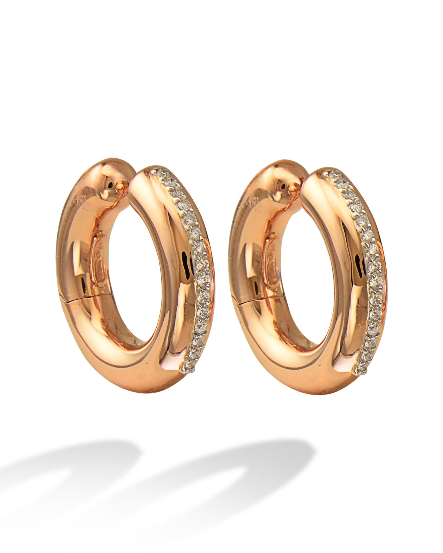 2962d004e Rose Gold Hoops for Non-Pierced Ears - Turgeon Raine