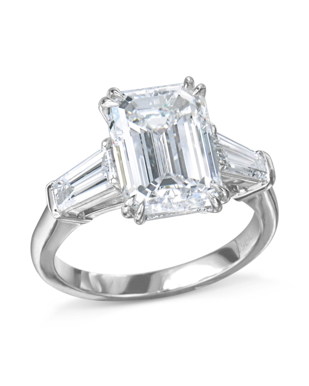 Emerald Cut Diamond Ring - Turgeon Raine