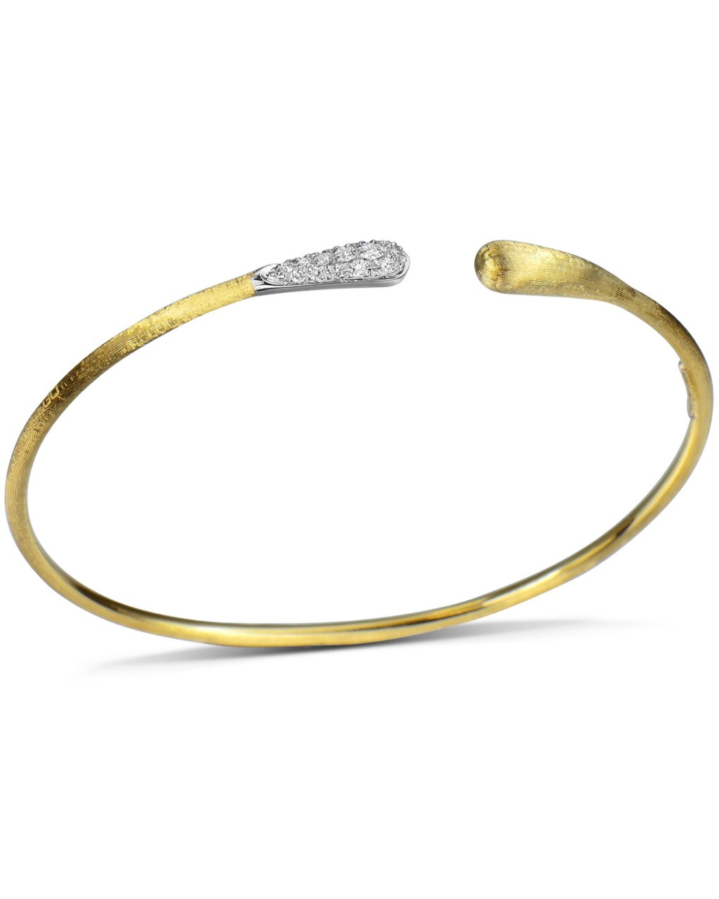 Yellow Gold Lucia Bangle by Marco Bicego