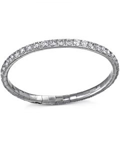 Platinum Diamond Flex Bracelet by Bez Ambar